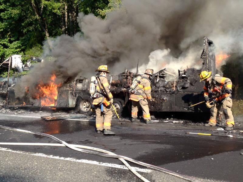 Engine Company Operates on the NJTP