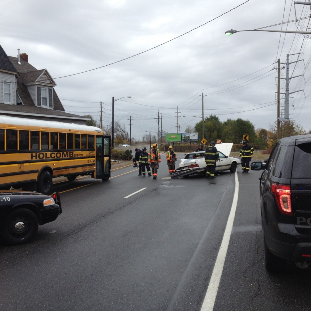 MVC on Rt 45 sends one to hospital