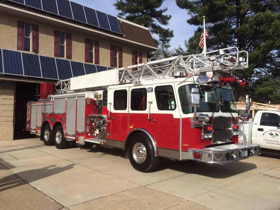 New ladder 736 arrives in Westville