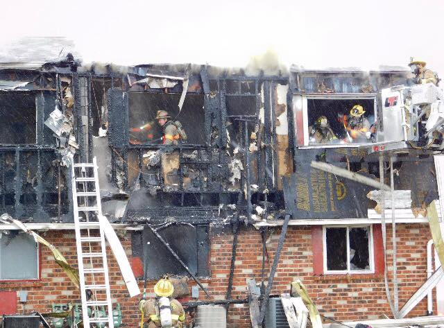 Engine Company Operates at Deptford 2nd Alarm