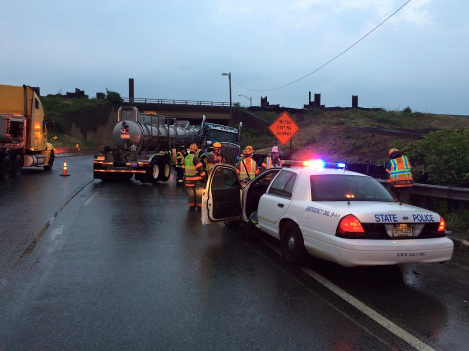 Rescue and BLS respond to crash on Route 295