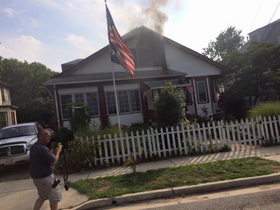 Companies operate on All-Hands house fire