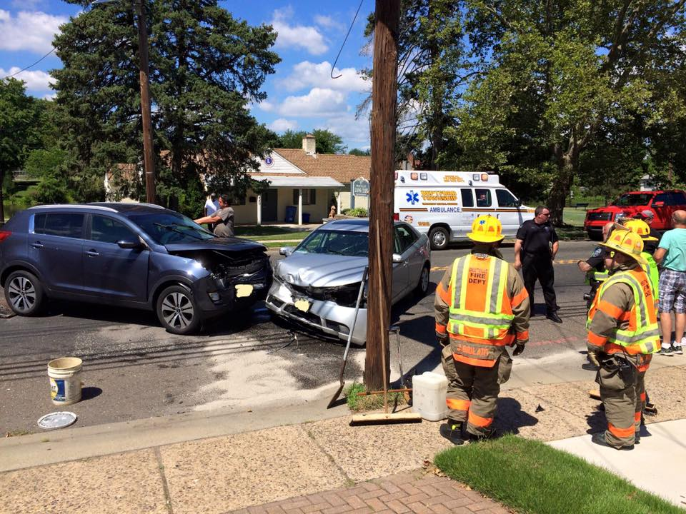 Rescue and BLS handle crash on Delsea drive