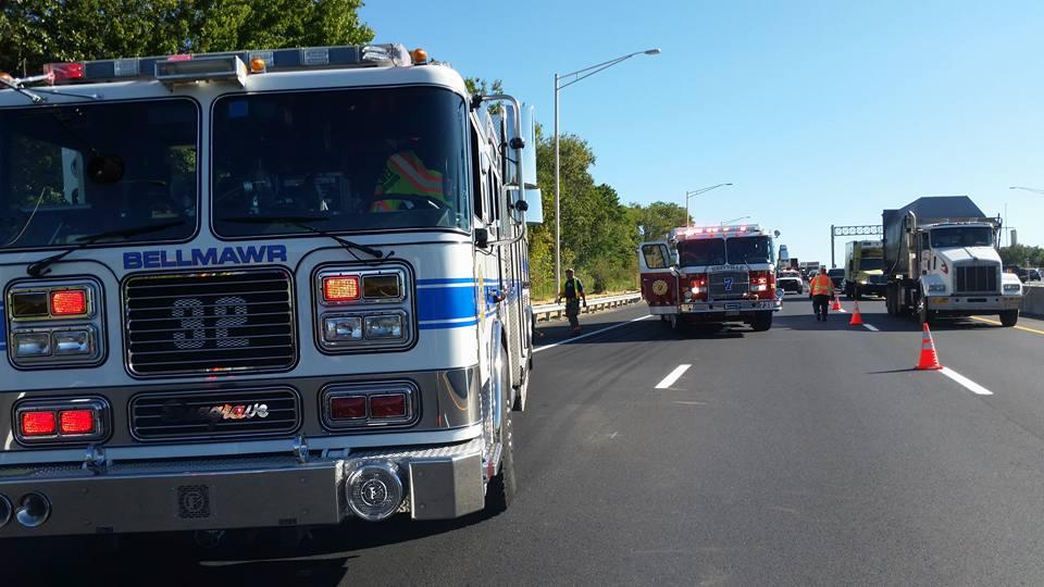 Rescue and BLS respond to crash on Rt 295