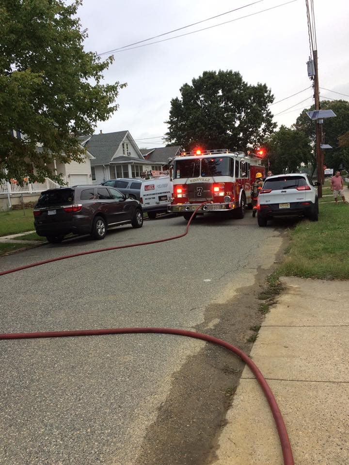 Engine Company responds to vehicle explosion