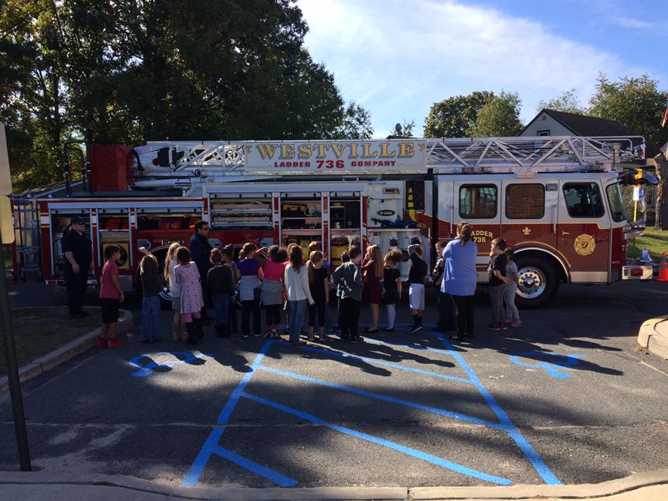 Fire Prevention Week at Parkview School