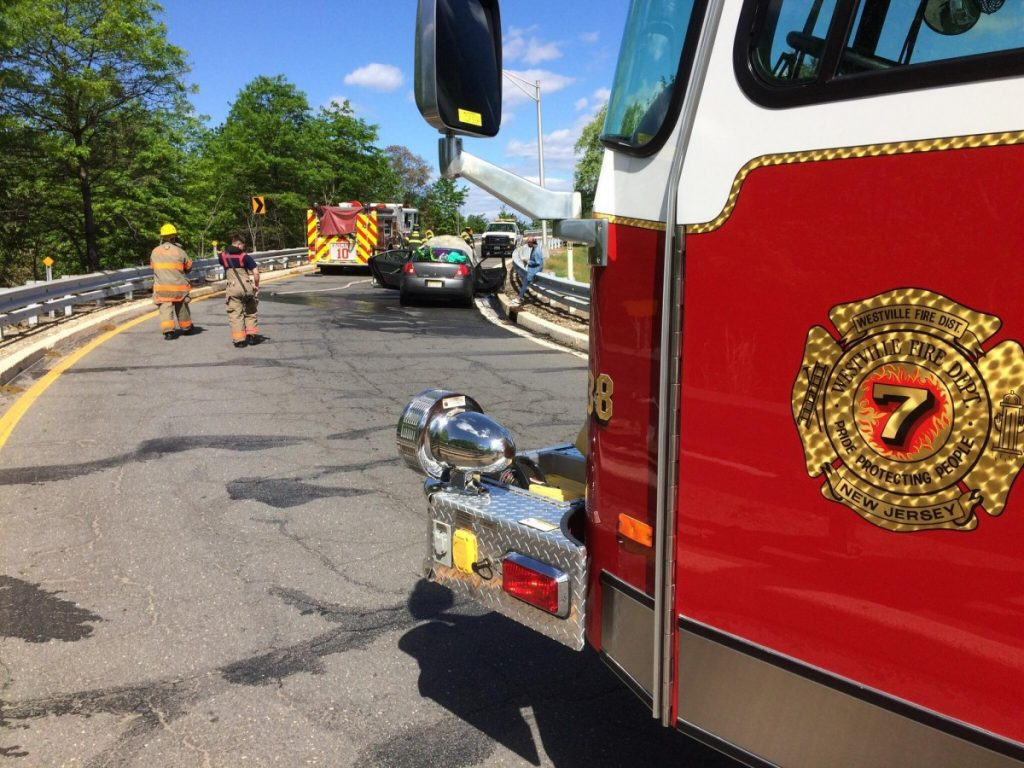 Rescue handles car fire while covering Gloucester City