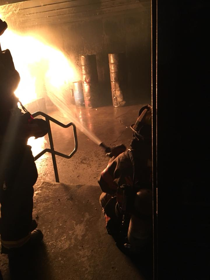 Burn Building Training