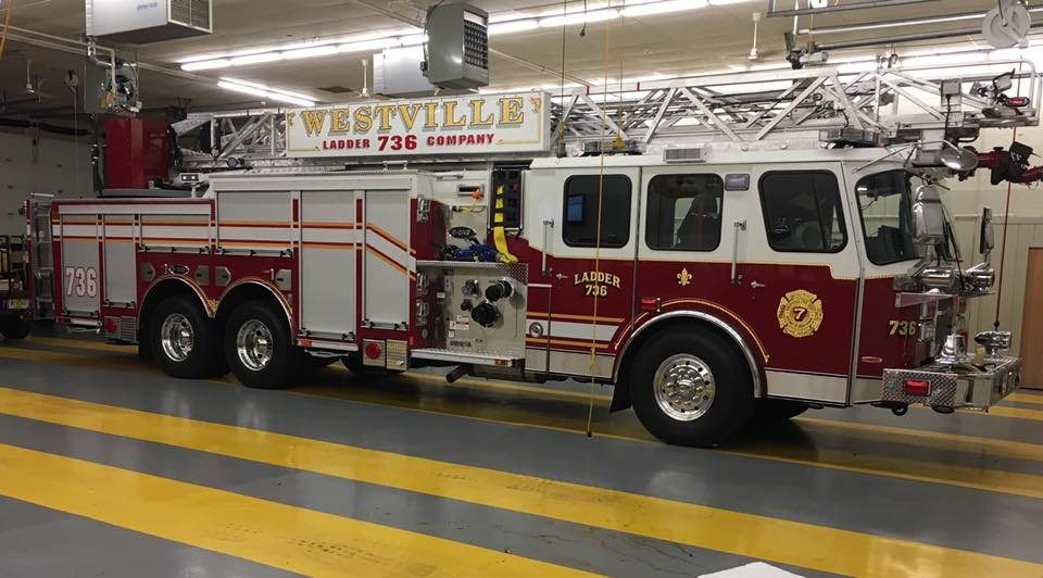 Ladder responds to small fire in Bellmawr