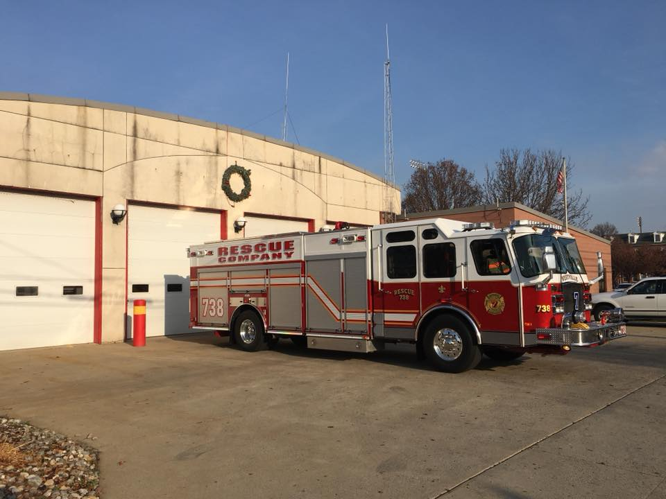 Rescue 738 covering Gloucester City's House