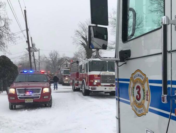 Edgewater Avenue House Fire