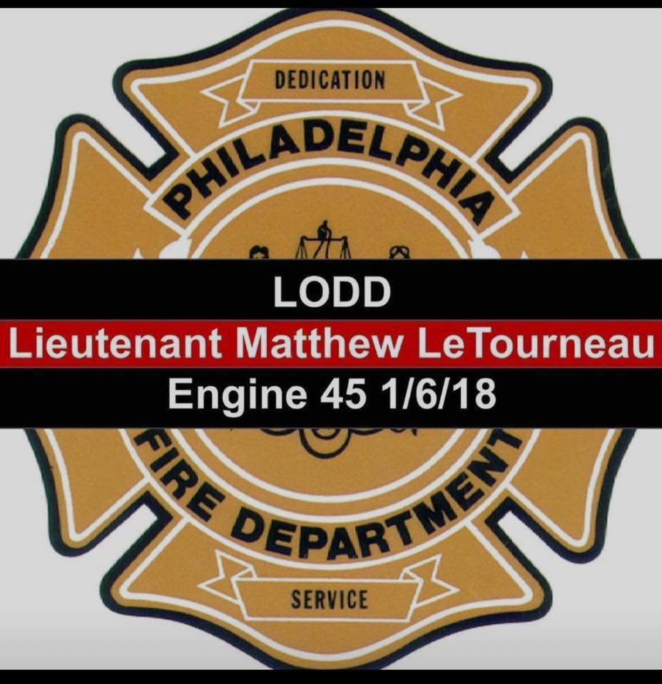 Thoughts and Prayers with The Philadelphia Fire Dept.