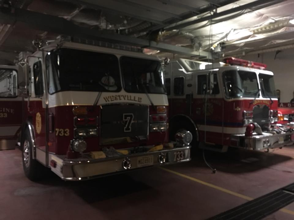 All Hands Fire in West Deptford's Local