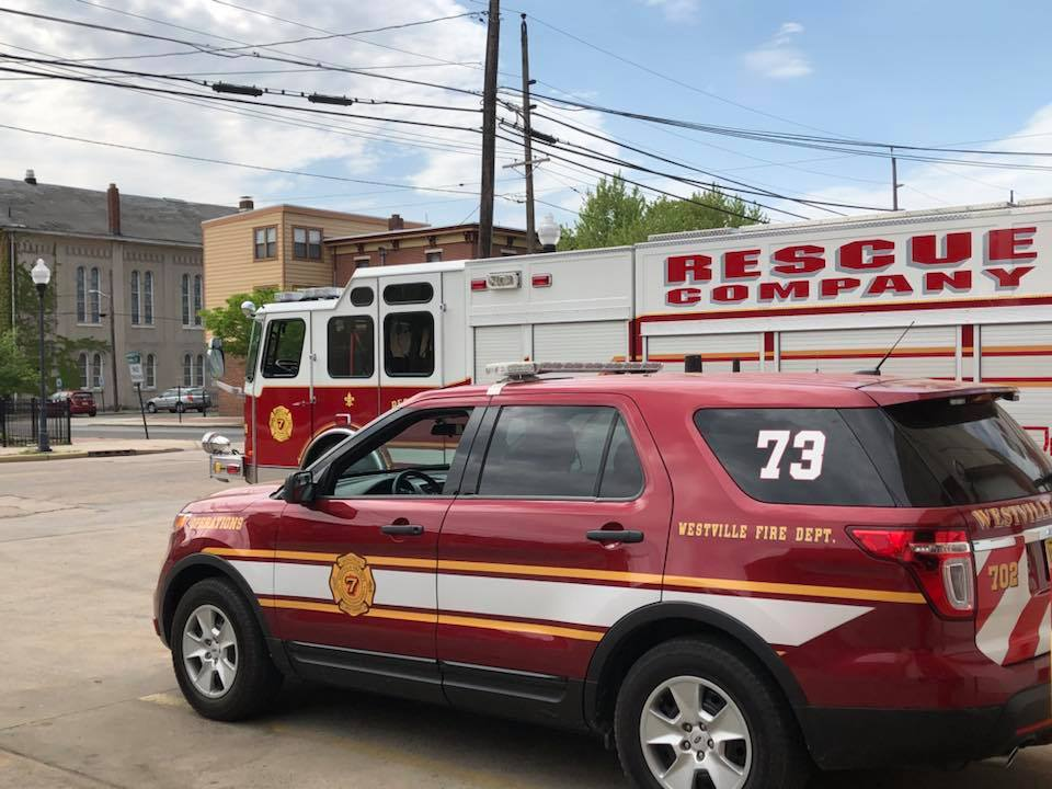 Rescue Company 738 covering Gloucester City