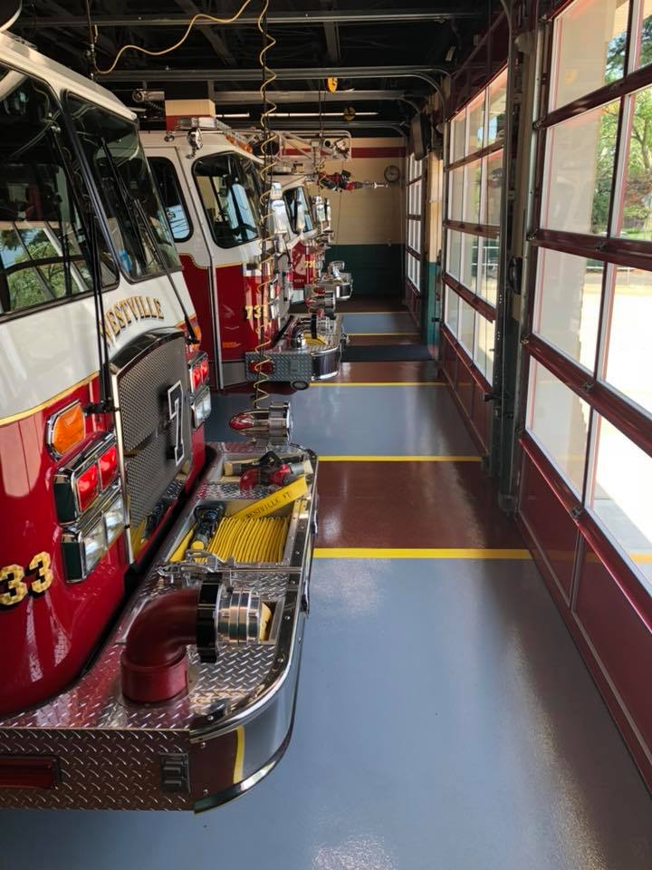 Apparatus floor project complete.