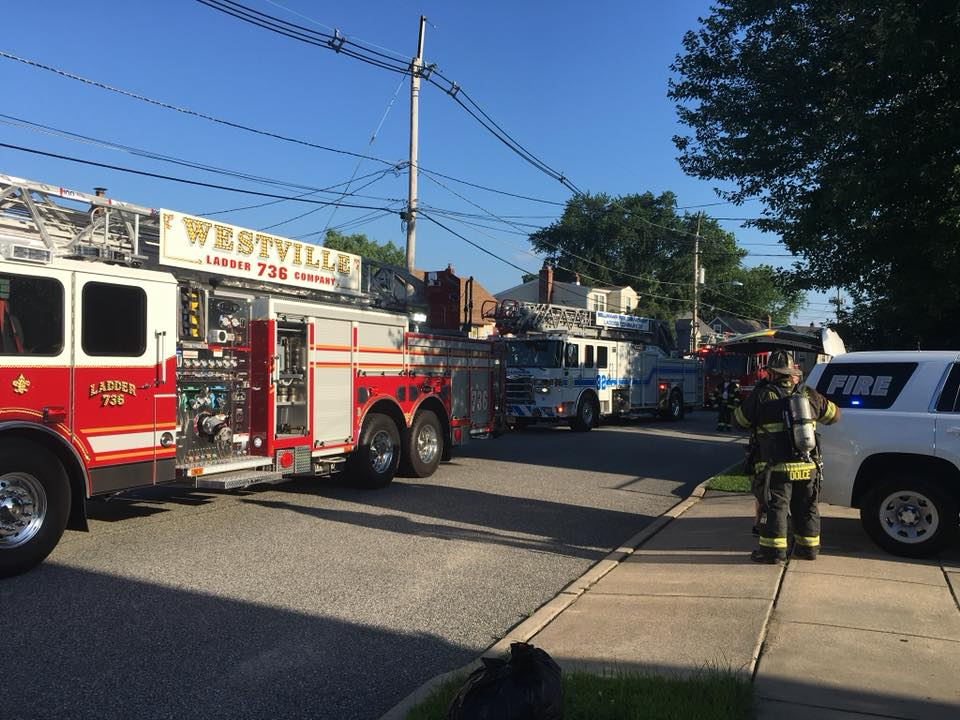 Working Kitchen Fire in Bellmawr